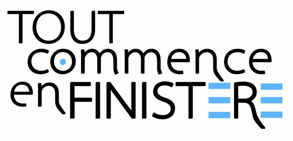 """logo de la marque territoire """"tout commence en Finistère"""""""