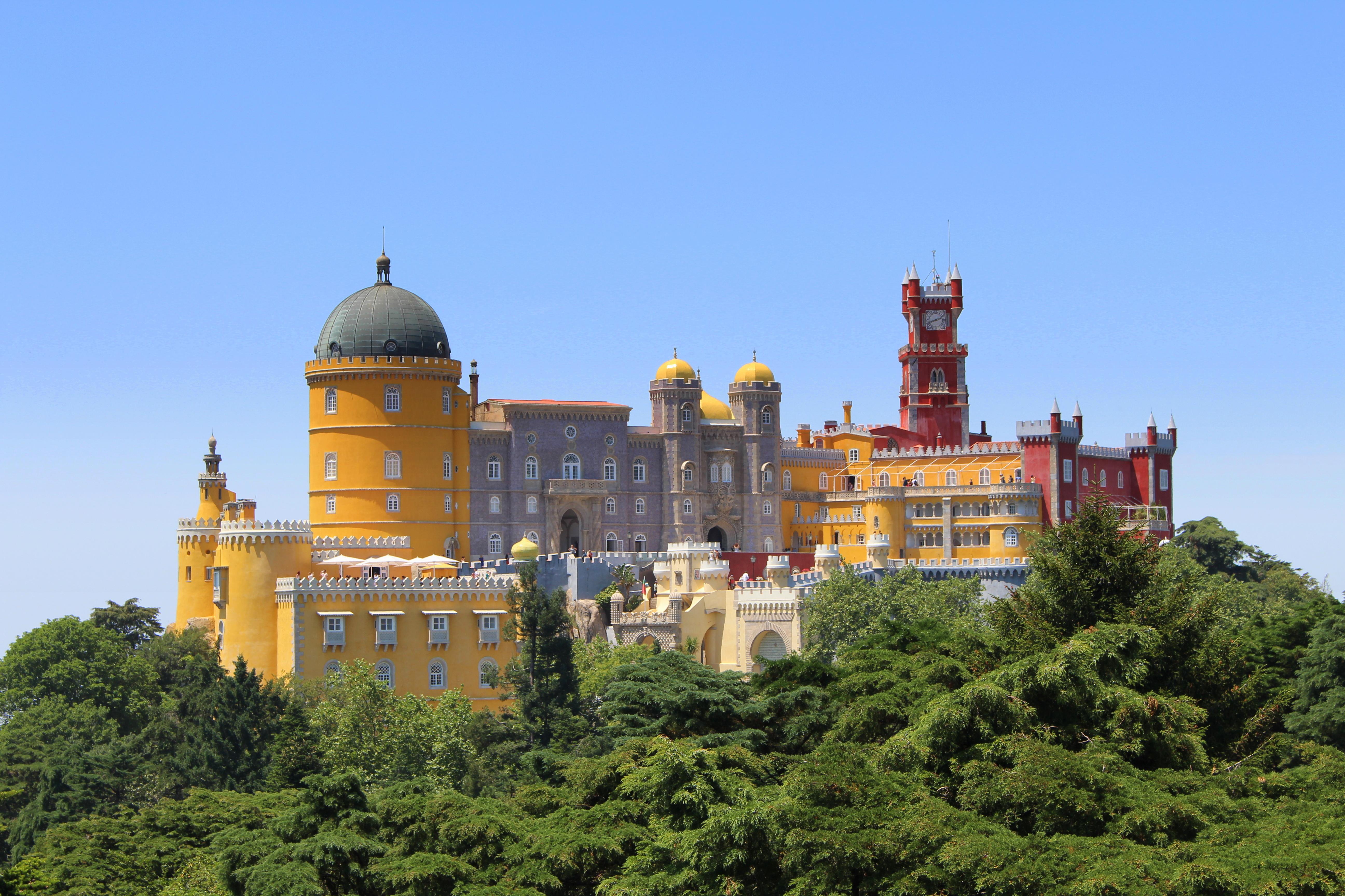 Le palais de Pena, Sintra